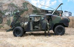 Army Truck royalty free stock photography