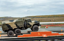 Army truck URAL-4320 Stock Images