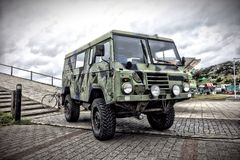 Army truck Stock Photo