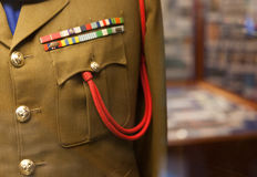 Army uniform Stock Images