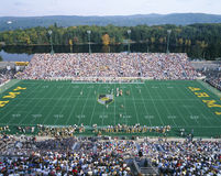 Army v. Lafayette. Michael Stadium at West Point, Army v. Lafayette, New York stock photography