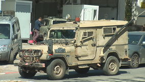 Army vehicle stock footage