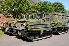 Army vehicles Royalty Free Stock Image