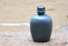 Army water canteen Stock Photos