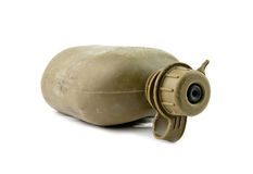 Army water canteen Stock Photography