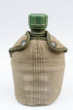 Army water canteen Royalty Free Stock Photos