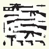 Army weapons Stock Photography