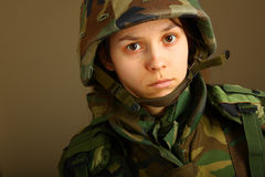 Army woman Royalty Free Stock Photo