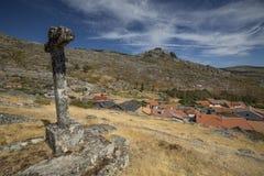 Arnal Village i Vila Real, Portugal royaltyfri fotografi