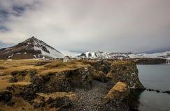 Arnarstapi,冰岛 免版税图库摄影