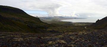 Arnastapi i västra Island Arkivbild