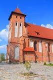 Arnau教会,以纪念圣叶卡捷琳娜二世受难者教区的一个寺庙  库存照片