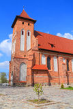 Arnau Church, a temple in honor of the parish of St. Catherine the Great Martyr Stock Photos