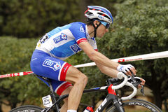 Arnaud Courteille of FDJ rides Stock Photography