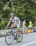Arnaud Gerard on Col du Tourmalet - Tour de France 2014 Royalty Free Stock Images