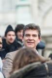 Arnaud Montebourg stützt machte in Frankreich Lizenzfreie Stockbilder