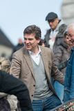 Arnaud Montebourg supports the Made in France Stock Images