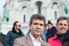 Arnaud Montebourg supports the Made in France Royalty Free Stock Photos