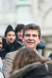 Arnaud Montebourg supports the Made in France Royalty Free Stock Images