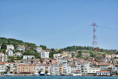 Arnavutkoy, Ιστανμπούλ, Τουρκία Στοκ φωτογραφία με δικαίωμα ελεύθερης χρήσης