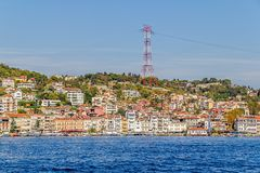 Arnavutkoy Costantinopoli Fotografie Stock Libere da Diritti