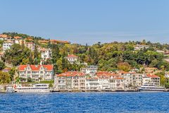 Arnavutkoy Istambul Imagem de Stock Royalty Free