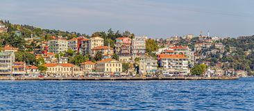 Arnavutkoy Istanbul Stock Photo