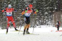 Arnd Peiffer - biathlon Στοκ φωτογραφίες με δικαίωμα ελεύθερης χρήσης