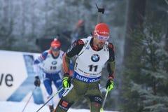 Arnd Peiffer - biathlon Στοκ Εικόνες