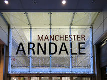 Arndale Shopping Centre in Manchester, England Stock Image