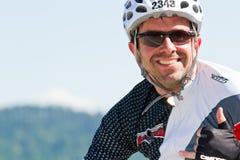 Arndt Peachthold στο γεγονός ανακύκλωσης Coeur d Alene Ironman Στοκ φωτογραφία με δικαίωμα ελεύθερης χρήσης