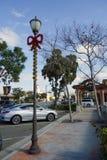 Arneill Rd et orme dans la vieille ville de Camarillo, CA Photo stock