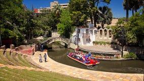 Arneson flodteater på Sanen Antonio River Walk royaltyfria foton