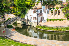 Arneson River Theater River Walk San Antonio Texas Stock Images