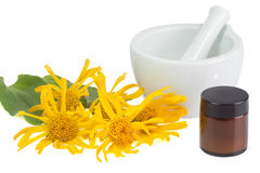 Arnica ointment stock images
