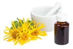 Arnica tincture Royalty Free Stock Photos