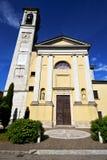 Arno Βαρέζε Ιταλία εκκλησιών solbiate το παλαιό πεζούλι Στοκ φωτογραφίες με δικαίωμα ελεύθερης χρήσης