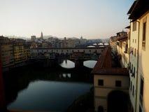 Arno της Φλωρεντίας Στοκ Φωτογραφίες