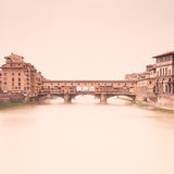 arno Florence Italy ponte Tuscany vecchio Fotografia Royalty Free