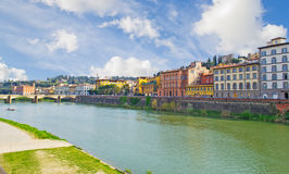Arno in Florence Stock Photo