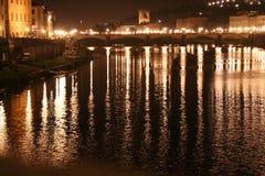 Arno-Fluss Stockbild