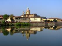 Arno landscape Firenze Royalty Free Stock Photos