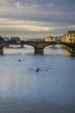 Arno półmrokiem Zdjęcie Stock
