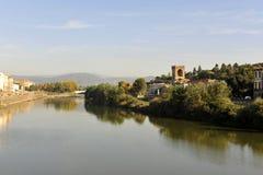 Arno river Royalty Free Stock Photos
