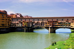 Arno river. In florence, italy Royalty Free Stock Photography