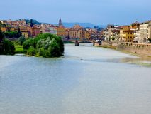 Arno river in Florence Royalty Free Stock Photos