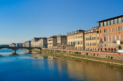 Arno river, Florence Royalty Free Stock Images