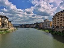 Arno river Royalty Free Stock Photo