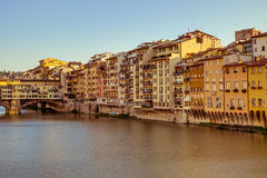 Arno river in Florence Stock Image