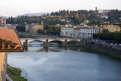 Arno river, Florence, Italy Stock Photo